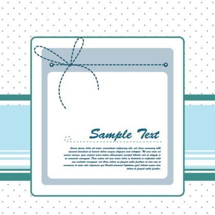 Blue Ribbon Free Vector