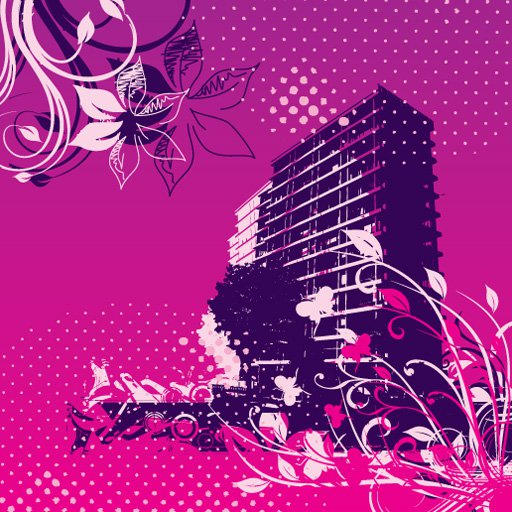Buildings gone wild Free Vector