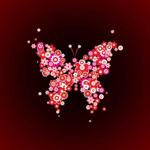 Butterfly Vector Free Vector