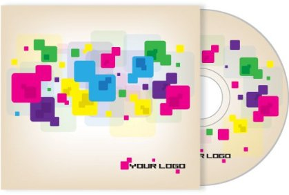 Cd Cover Design Free Vector