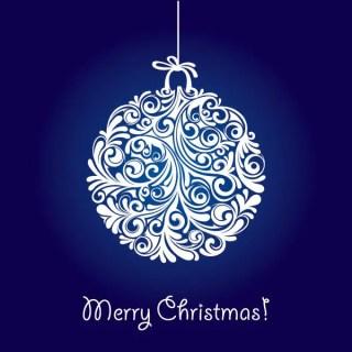 Christmas Ball Free Vector