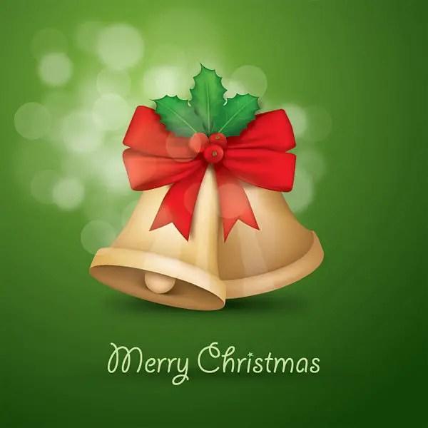 Christmas Bells Free Vector