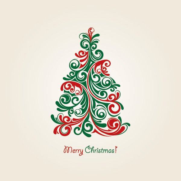 Christmas Tree Vector Free Vector