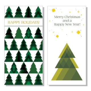 Christmas Trees Free Vector