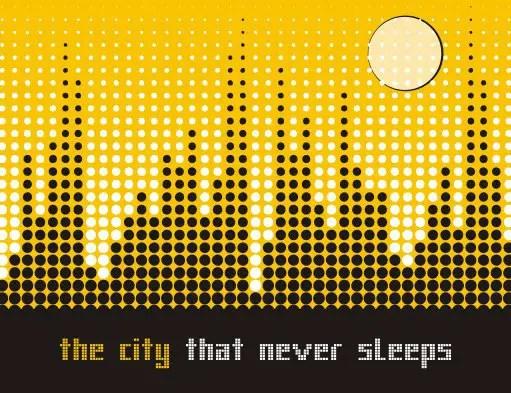 City landscape Free Vector