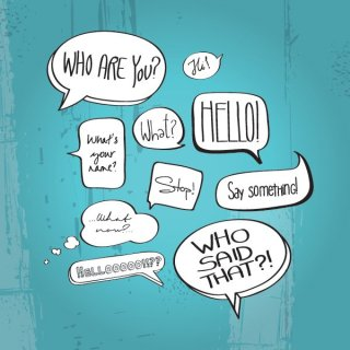 Comic Book Speech Bubbles Free Vector