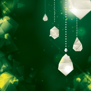 Diamond Decorations Free Vector