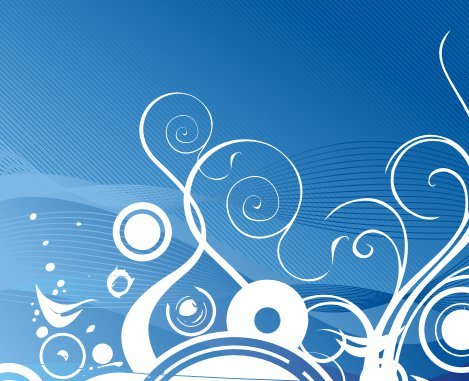 Dreaming water Free Vector
