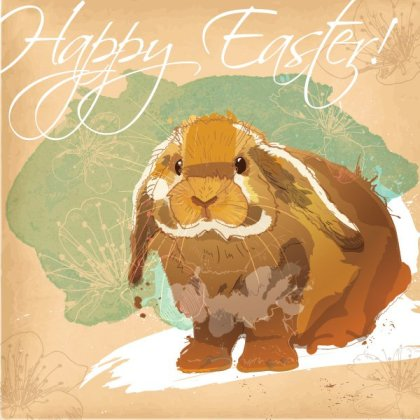 Easter Bunny Free Vector