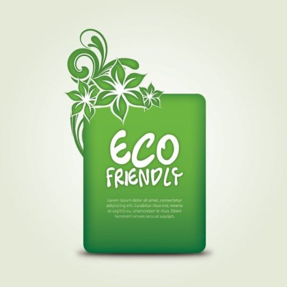 Eco Friendly Free Vector