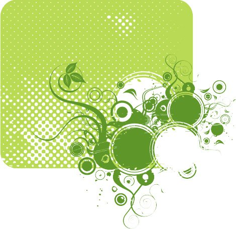 Eco green Free Vector