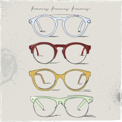 Eye Frames Free Vector