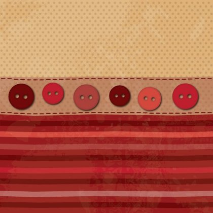 Fabric and Buttons Free Vector