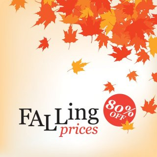 Falling Prices Free Vector