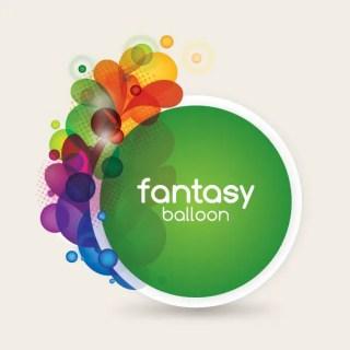 Fantasy Balloon Free Vector