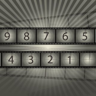 Film Reel Countdown Free Vector