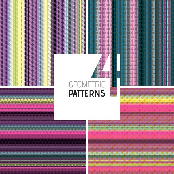Geometric Patterns Free Vector