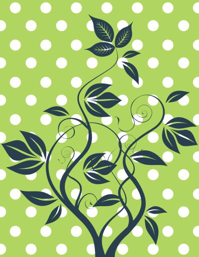 Growing nature Free Vector