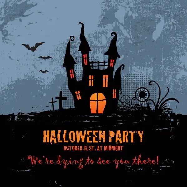Halloween Party Free Vector