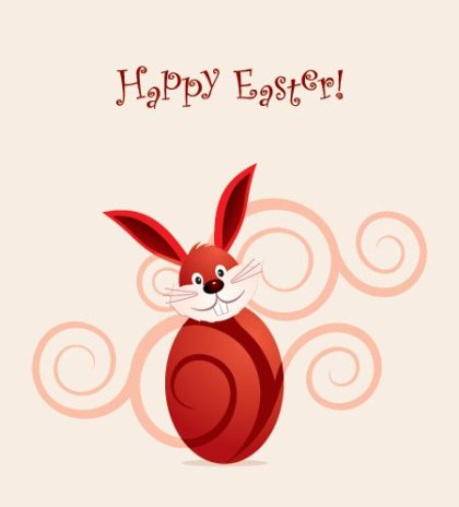 Happy Easter Vector Free Vector