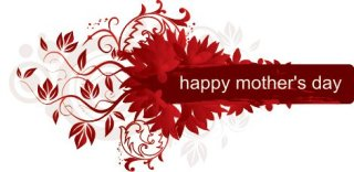 Happy mothers day frame Free Vector