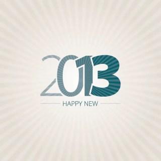 Happy New 2013 Free Vector
