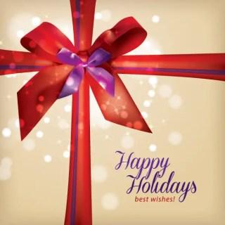 Holiday Gift Free Vector