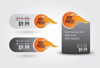 Hot Price Free Vector