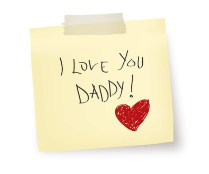 I Love You Daddy Free Vector