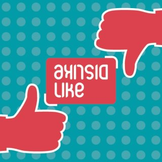 Like Dislike Free Vector