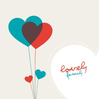 Lovely Family Free Vector