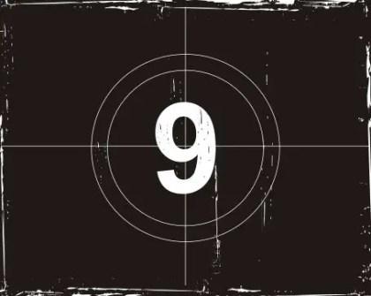 Movie countdown Free Vector