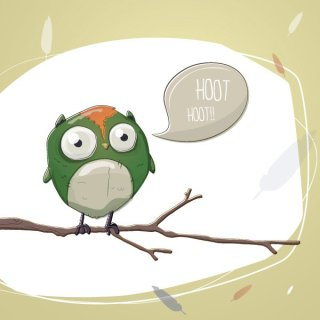 Owl Stories Free Vector