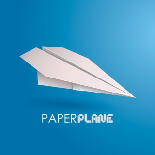 Paper Plane Free Vector