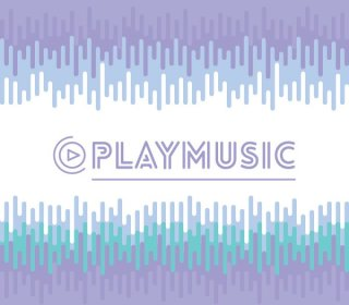 Play Music Free Vector