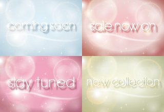 Promotion Backgrounds Free Vector