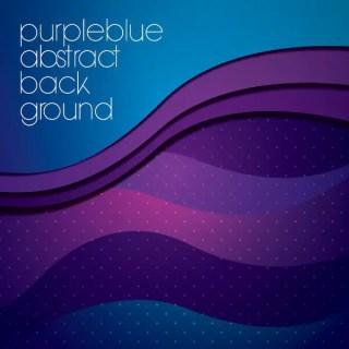 Purple Blue Background Free Vector
