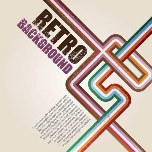 Retro Background Vector Free Vector