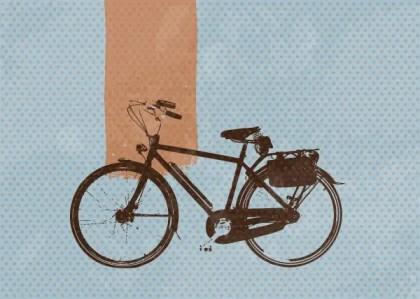 Retro Bike Free Vector