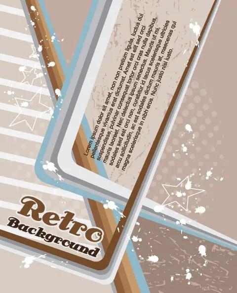 Retro Vector Background Free Vector