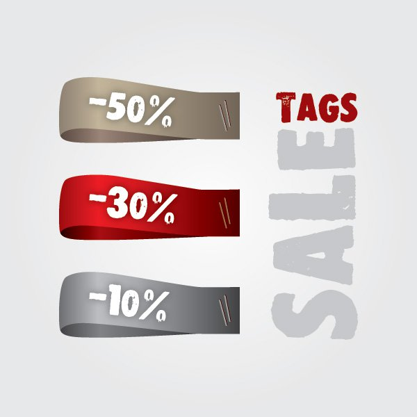 Sale Tags Free Vector