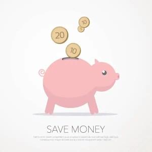 Save Money Free Vector
