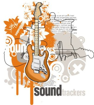 Sound Trackers Free Vector
