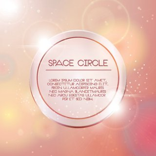 Space Circle Free Vector