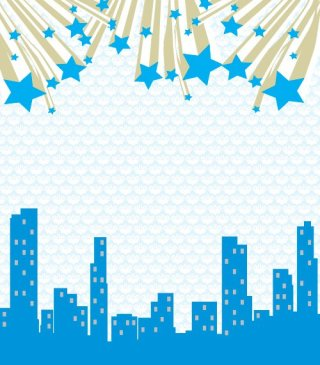 Star city Free Vector