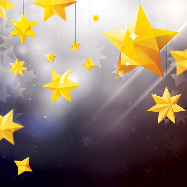 Star Ornaments Free Vector