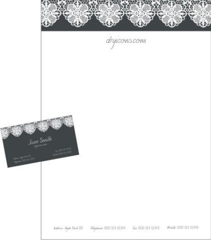Stationery Design Free Vector