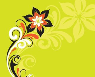 Stylized Plant Free Vector
