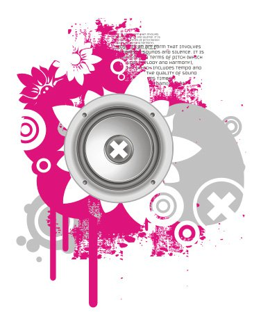 Sweet sound Free Vector