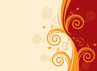 Swirly Background Free Vector